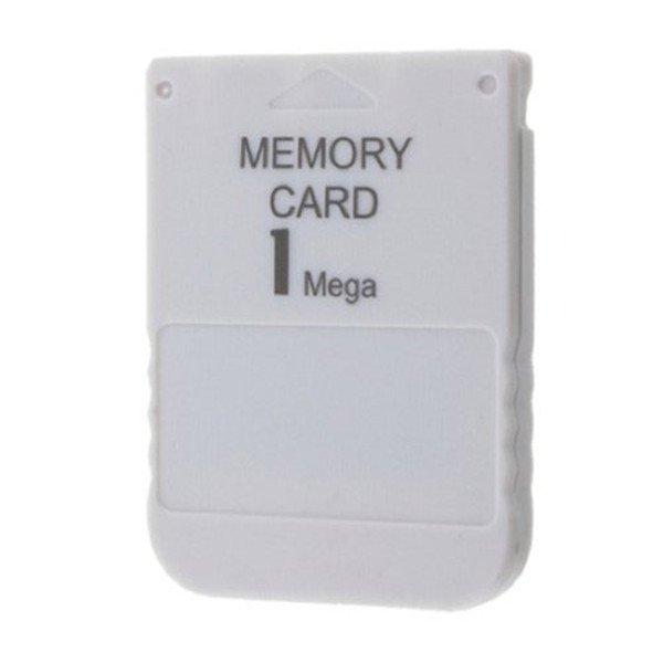 tarjeta de memoria almacenamiento 1 mb para play station 1