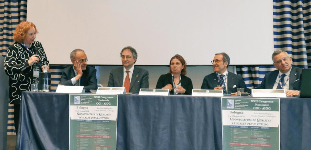 Congresso Coi-Aiog, tutti i cenacoli e i massimi esponenti dell'odontoiatria si sono riuniti a Bologna