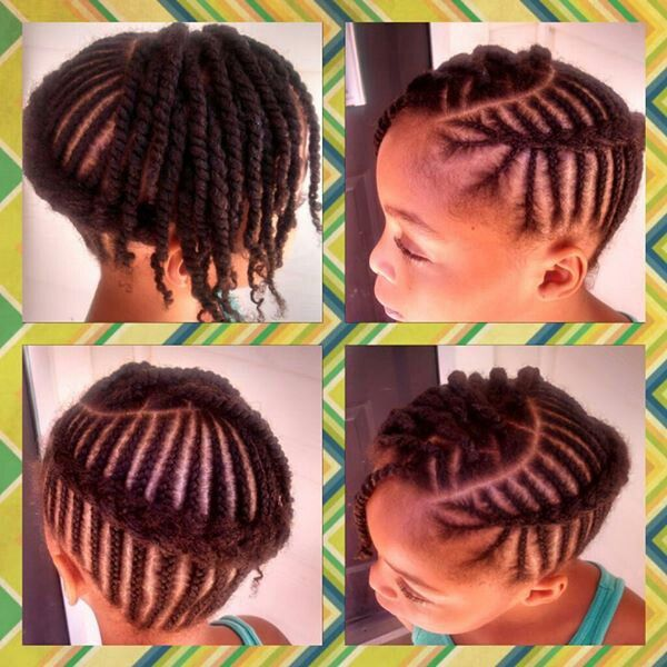 Pleasing 12 Holiday Hairstyles For Kids With Natural Hair Coils Amp Glory Short Hairstyles For Black Women Fulllsitofus