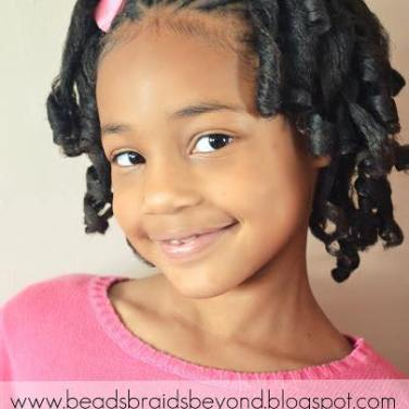 Cornrows + Rod Sets. Great for your tween or teen