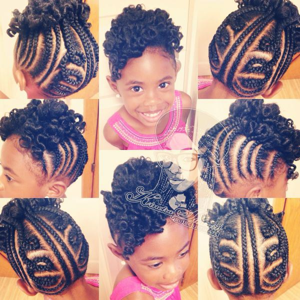 Prime 12 Holiday Hairstyles For Kids With Natural Hair Coils Amp Glory Short Hairstyles For Black Women Fulllsitofus