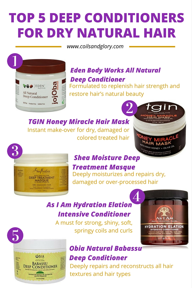 Natural Deep Conditioning Treatments For Dry Hair