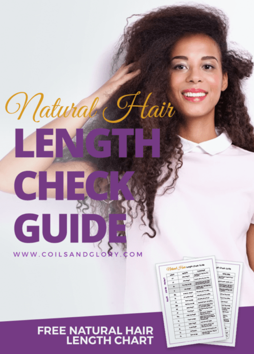 natural hair length check