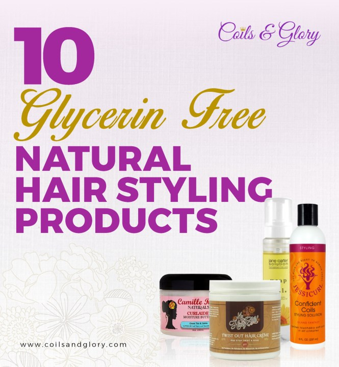 glycerin free natural hair product