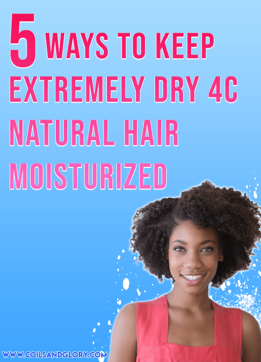 Five Ways To Keep Dry 4c Natural Hair Moisturized