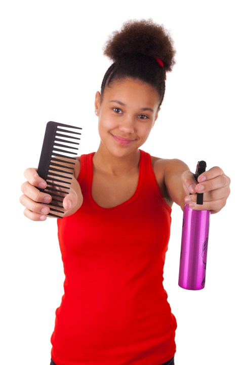 comb natural hair