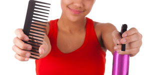 comb natural hair