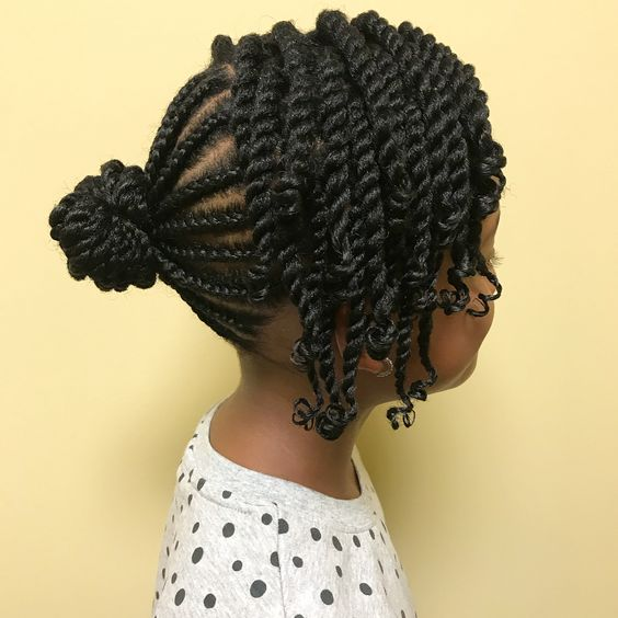 10 Cute & Trendy Back to School Natural Hairstyles for Black Girls ...