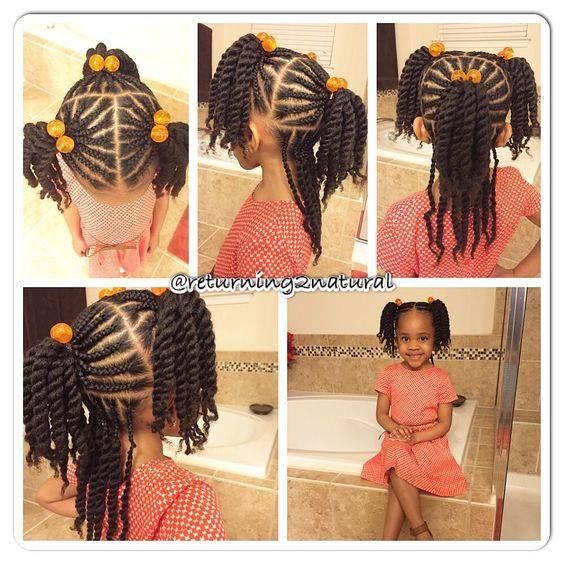 10 Cute Back To School Natural Hairstyles For Black Kids Coils And Glory