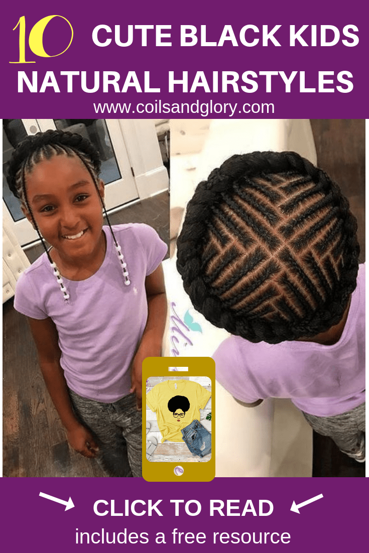 10 Cute Trendy Back To School Natural Hairstyles For Black Girls