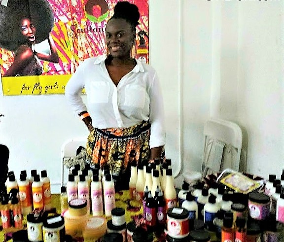 black owned natural hair businesses christmas