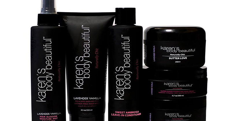 black owned natural hair and beauty brand