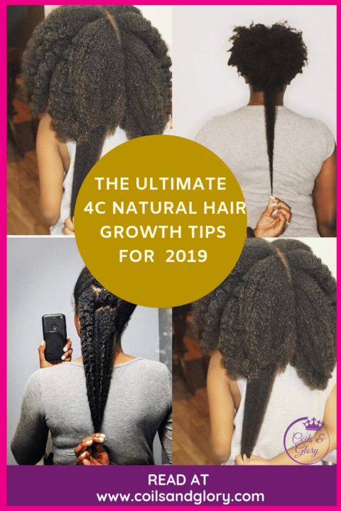 how to grow 4c hair to waist length