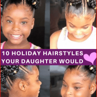 10 Holiday Hairstyles For Natural Hair Kids Your Kids Will Love ?