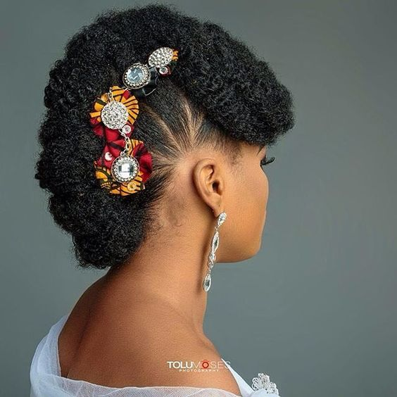 holiday hairstyles for short natural hair