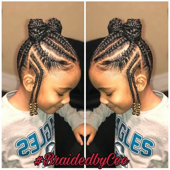 12 Easy Winter Protective Natural Hairstyles For Kids Coils And Glory