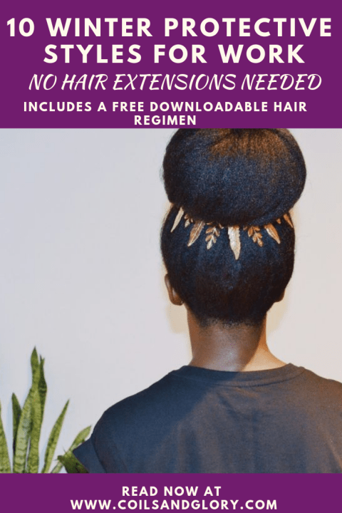 winter protective styles for natural hair
