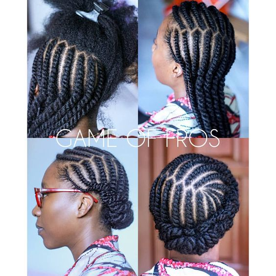 Ten Natural Hair Winter Protective Hairstyles Without Extensions Coils And Glory