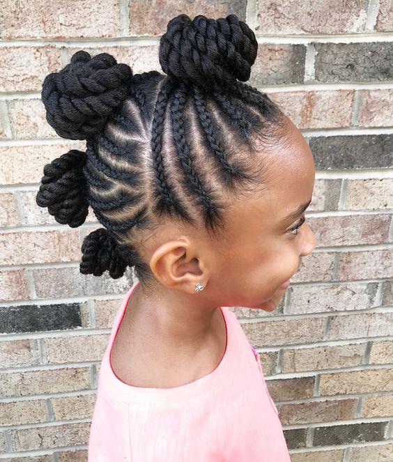 cornrows for black girls