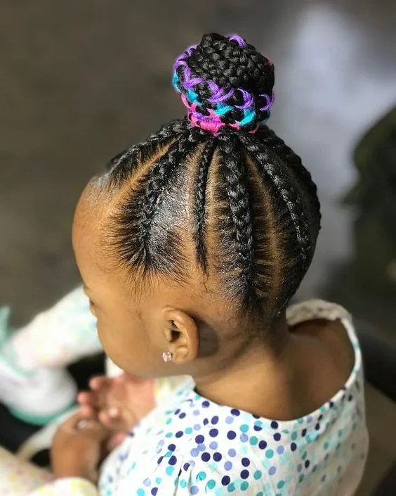 ponytail hairstyles for toddlers