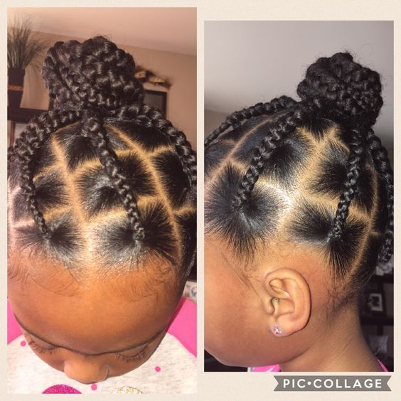 black toddlers hairstyles braids