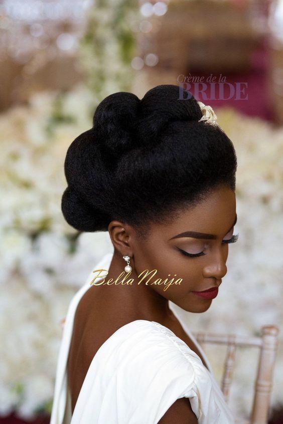 black bridal hairstyles