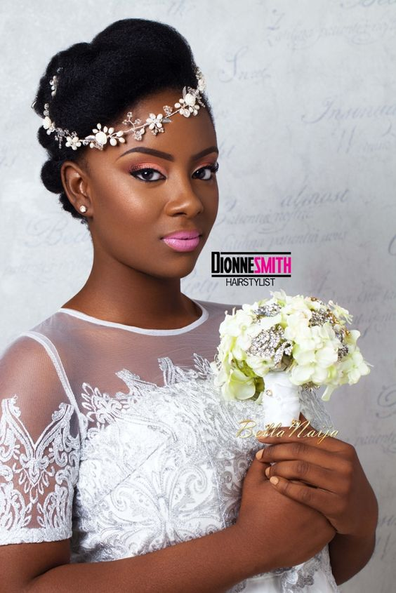 bridal natural hairstyles