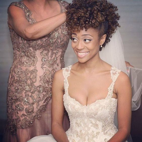 bridal hairstyles for natural hair