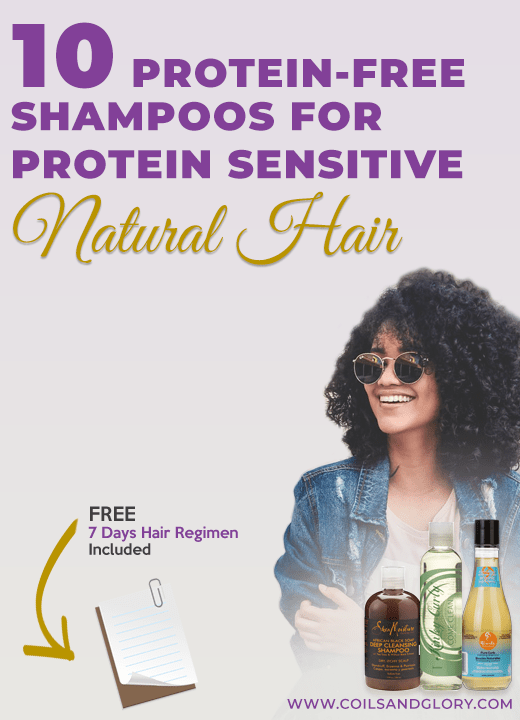 protein free shampoos for 4c hair