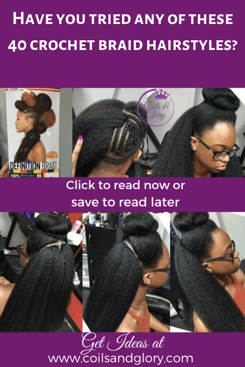 crochet braids hairstyles on 4c hair