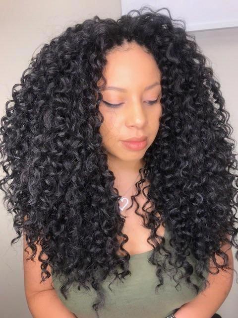 Crochet braids styles on black hair