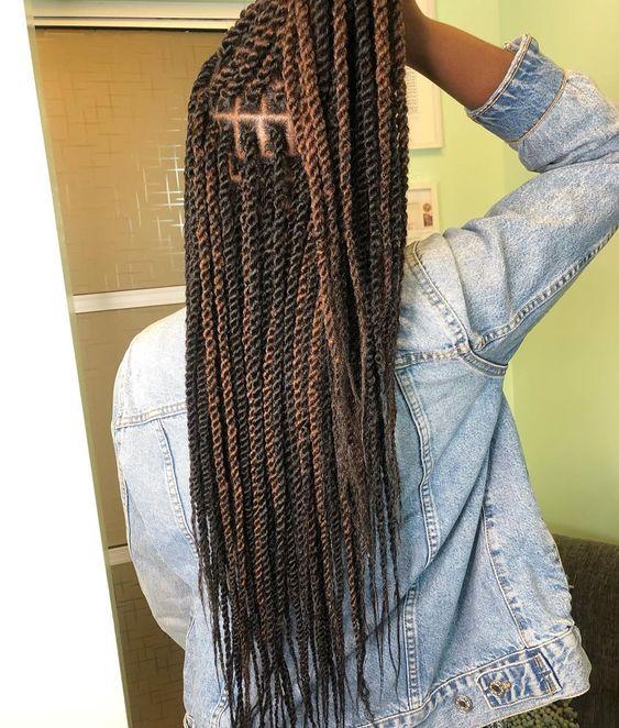 ombre marley twist hair