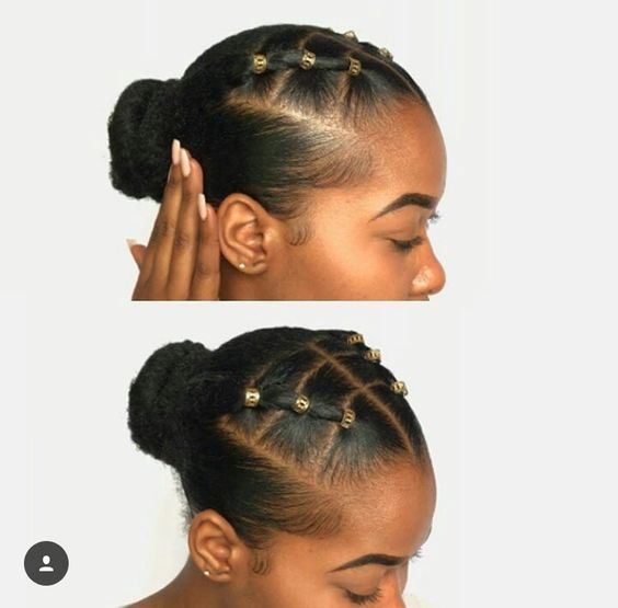 cute easy rubber band hairstyles
