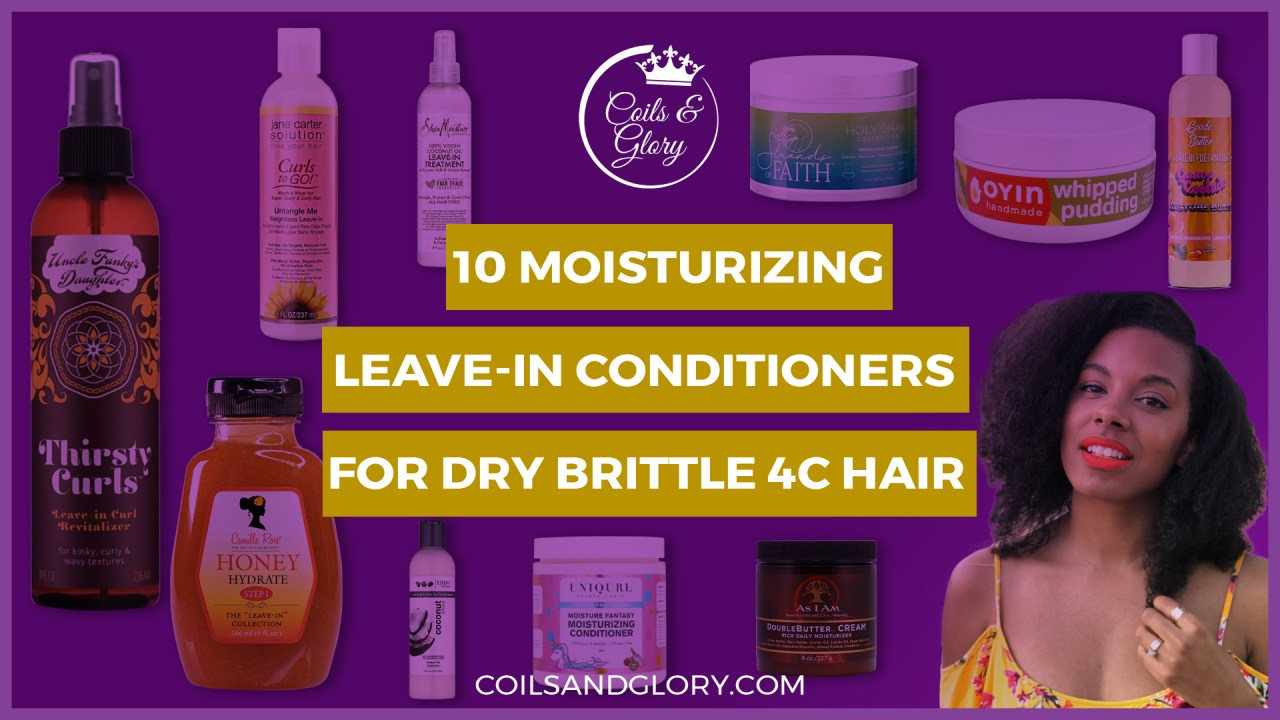 moisturizing leave-in conditioner for 4c hair