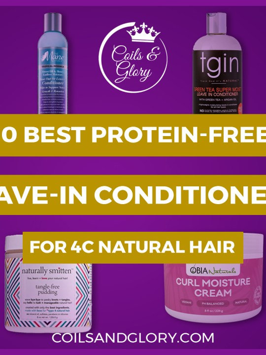 protein leave in conditioner for 4c hair