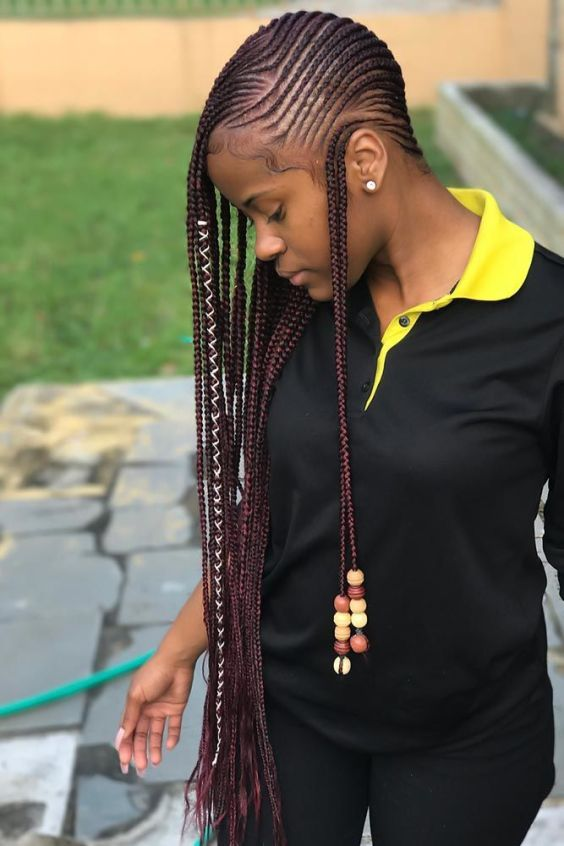 Lemonade Braids With Wraps