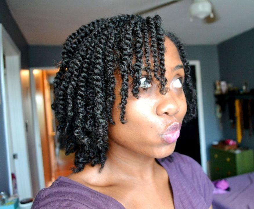 Medium-sized two strand twists