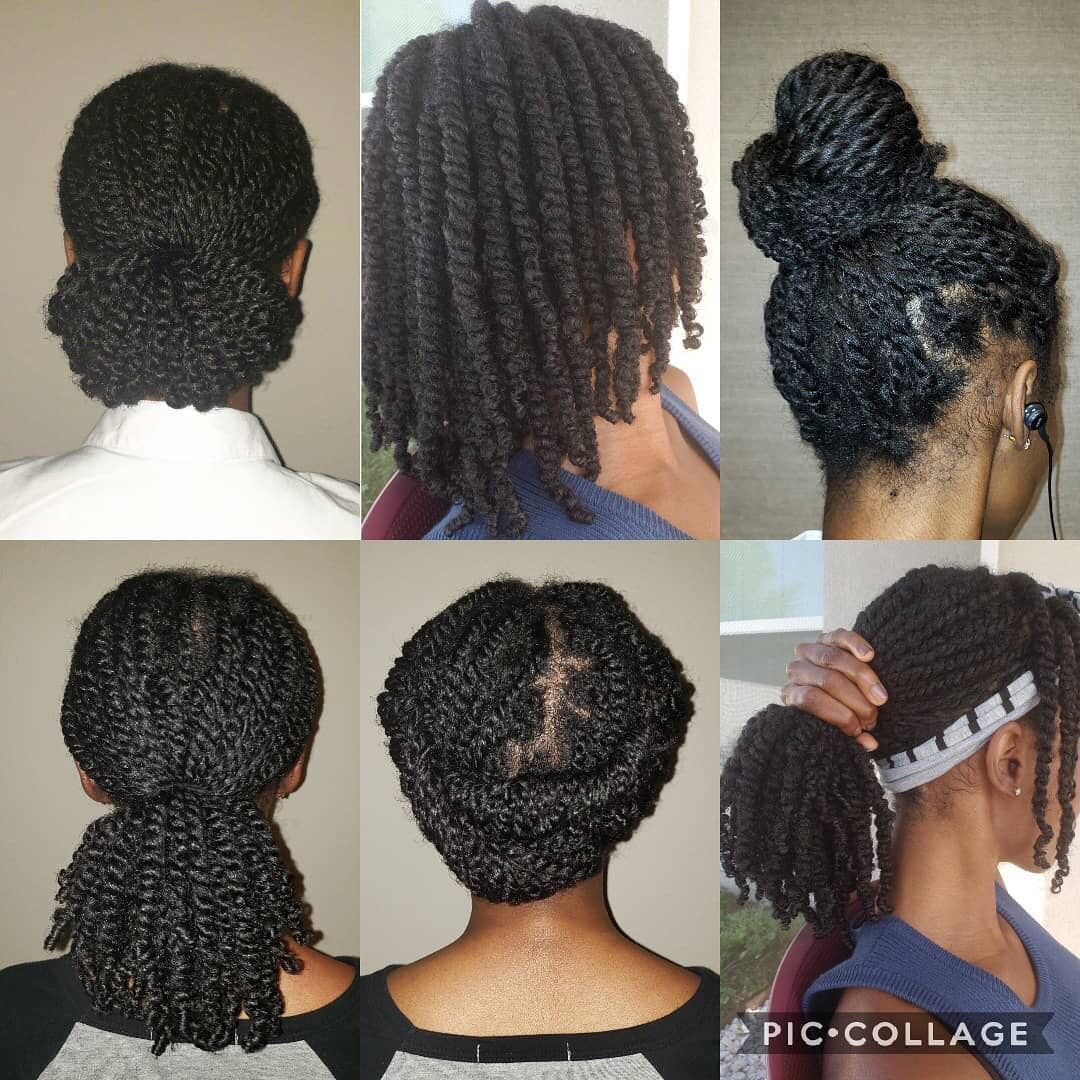 two strand twist natural hairstyles pictures