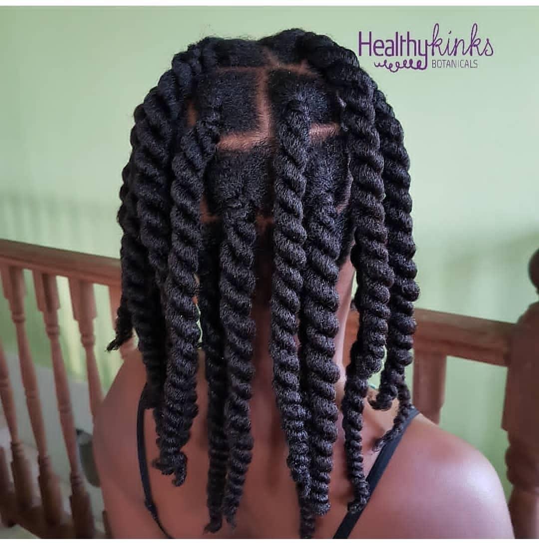 two strand twists protective style
