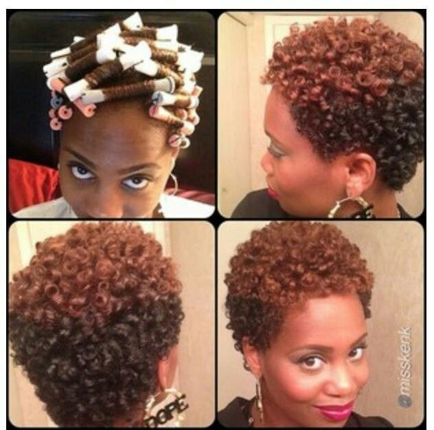 perm rods for twa short hair