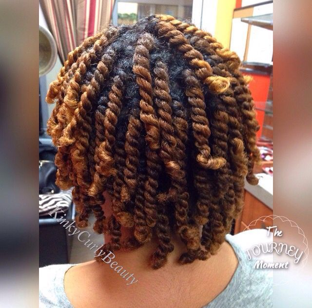 two strand twists for natural hair