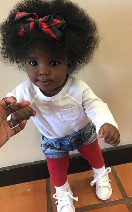 hairstyles for 1 year old black baby girl