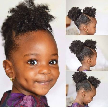 black toddler hairstyles for short hair