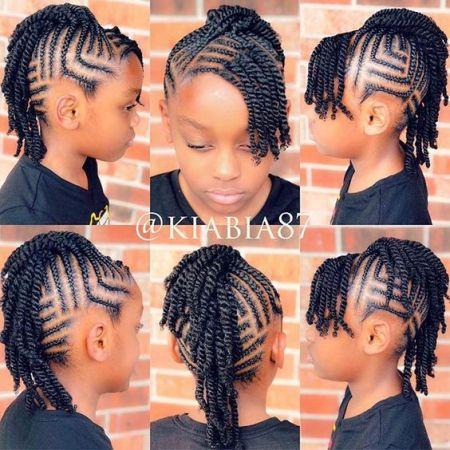 hairstyles for black girls braids