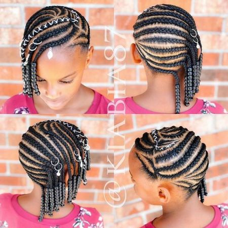 cute little black girl braids