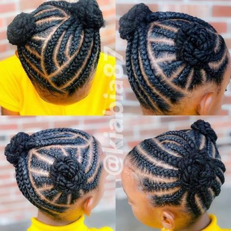 african kids hairstyle