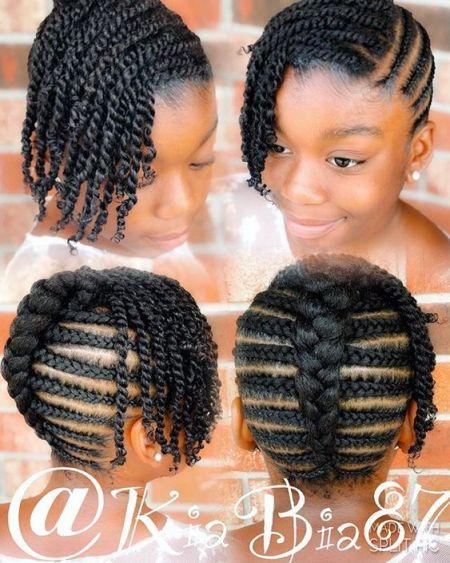 little black girl braids