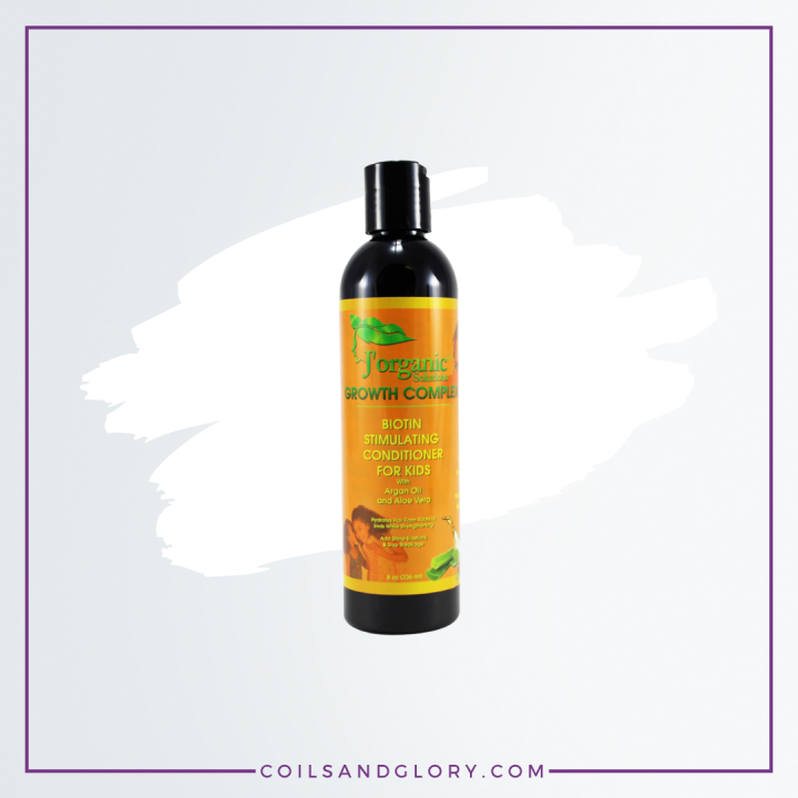 J'Organic Solutions Biotin Hair Growth Stimulating Conditioner For Kids