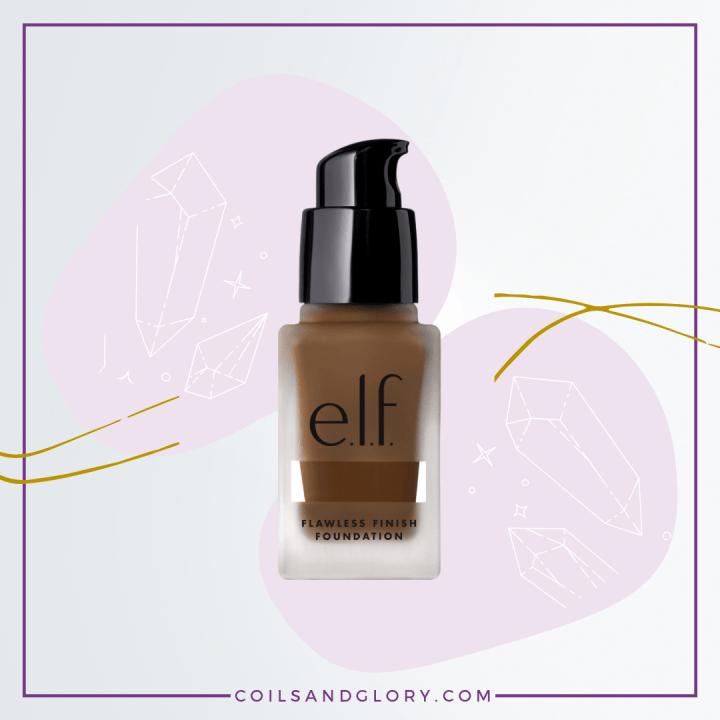 elf Cosmetics Flawless Finish Foundation for Black Skin