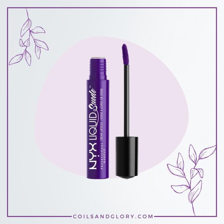 NYX Professional Makeup Liquid Suede Cream Lipstick in Amethyst